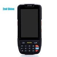 Портативный EAN13 код сканер для аndroid открытый используется сборщик данных штрих кода NFC планшет терминал