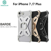 NILLKIN Barde Metal Case With Ring Holder For IPhone 7 7 Plus Cool Metal Bumper Back