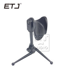 Free shipping!ETJ Professional Adjustable Desktop Handheld Table Tripod Microphone MIC Stand(China)