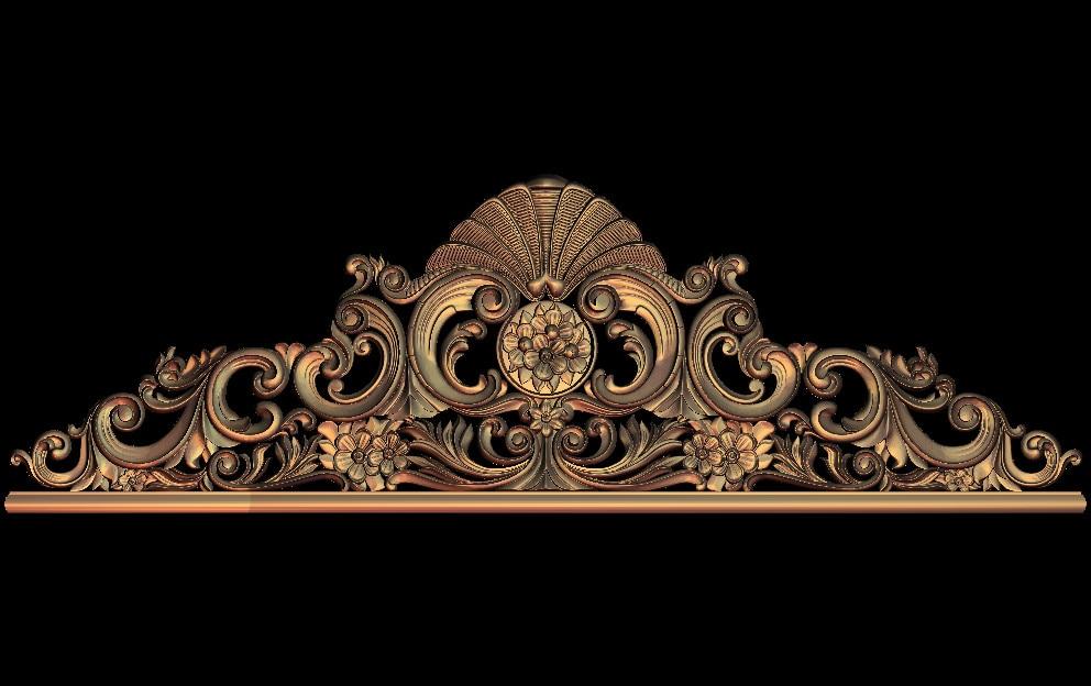 3D STL Model For CNC Router Engraver Carving Machine Relief Artcam Aspire M66