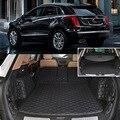 6 шт. Черный Задний Багажник Грузовое Покрытие Коврики Сиденье и Пол Протектор Для Cadillac XT5