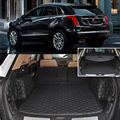 6pcs Black Rear Trunk Cover Cargo Mats Seat&Floor Protector For Cadillac XT5