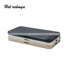 Full Housing Battery Cover 4.0For iPhone 5 5G Door Rear Chassis Frame Back For iphone 5g With Button