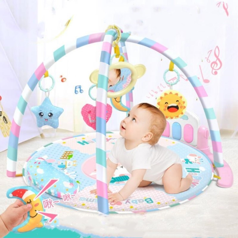 Baby Play Mat 0-12 Months Baby Soft Gym Blanket Crawling Toy Kids Rug Floor Mat Boy Girl Carpet Game Mat For Children Education Excellent Quality Baby Gyms & Playmats