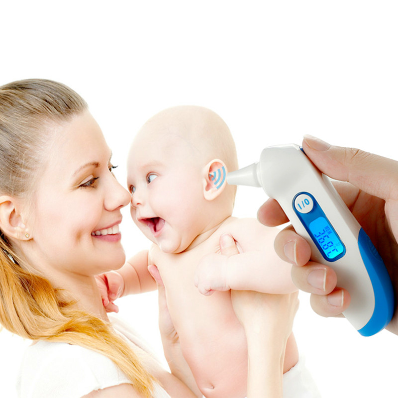 ear thermometer measure baby fever accrately supply to EU Pharmacy and clinics thermometer Digital Babies Thermometer