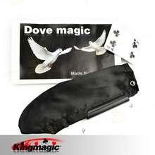 Профессиональный Голубь Мешок Черной магии реквизит магия игрушки оптовая бесплатная доставка фокусы