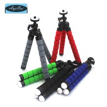 Common Mini Versatile Foam Legs Octopus Tripod Stand for GoPro SLR DSLR DV Digicam Small Digicam Holder Stand for iPhone7 htc m9