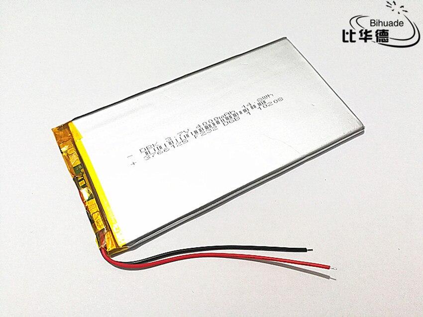 3,7 V 4000mAH 3766125 полимерный литий-ионный/литий-ионный аккумулятор для планшетных ПК 7 дюймов 8 дюймов 9 дюймов