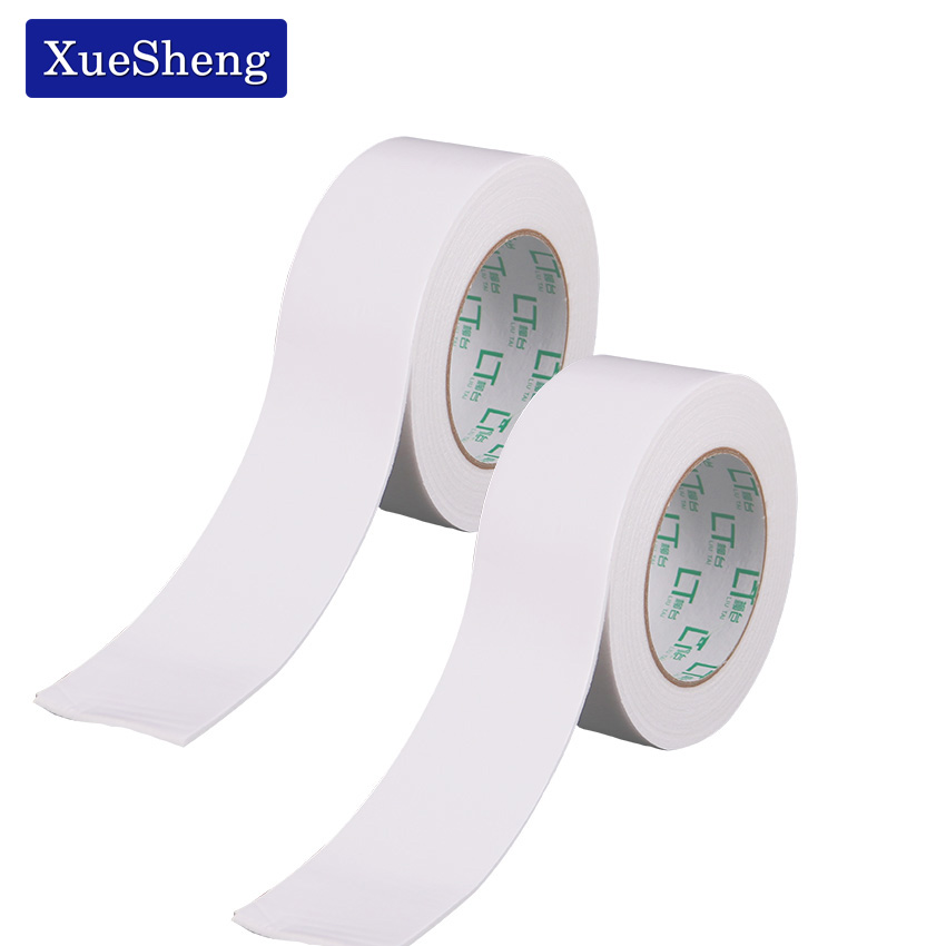 2PCS Double Sided Acrylic Foam Adhesive Tapes Strong Sticky Lasting High Viscosity White Office Tapes School Supplies 50mm X 3m single sided blue ccs foam pad by presta
