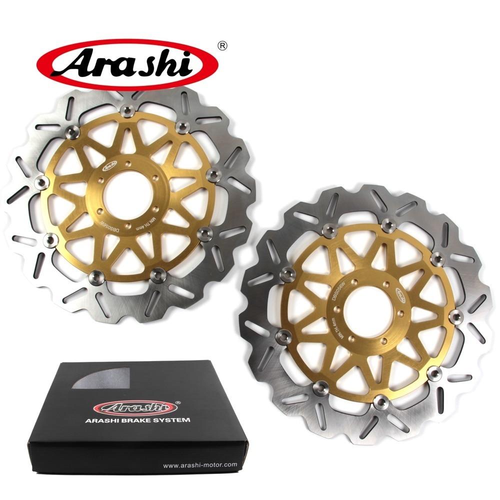 цена на Arashi 1 Pair For APRILIA SL FALCO 1000 2000-2004 CNC Front Brake Disc Brake Rotors SL1000 2000 2001 2002 2003 2004 RSV SP