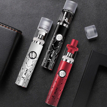 X mini 80W  vape pen e-cigarette kit 2.5ml capacity Atomizer 0.7 Ohm Tank Vape Mod with Built-in 1200mah battery цена в Москве и Питере