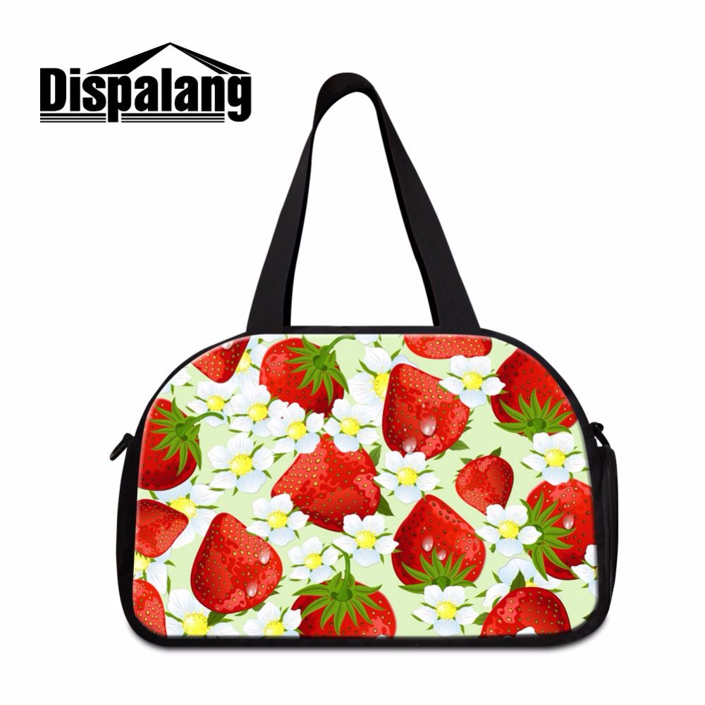 Dispalang Hot Design Tote Shoulder Travel Bag Medium Sized Duffle Handbags Portable Duffel Bag Carry-on Bag Women Travel Luggage
