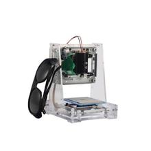 Envío Libre NEJE JZ-6 Rojo Máquina de Grabado Láser/Laser Printer-Transparente