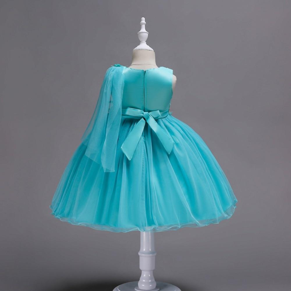 платье выпускного вечера; цветок девушка платье ; цветок платье с длинным;