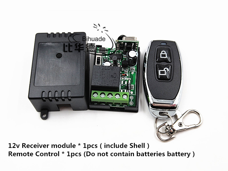 433Mhz Universal Wireless RF Remote Control Switch AC12V 220V 1CH 30A Relay Receiver and 2 channel 433 Mhz Remote For Water pump top quality 16ch wireless remote control switch rf 3pcs transmitter 1pcs receiver dc24v 7a remote control switch for water pump