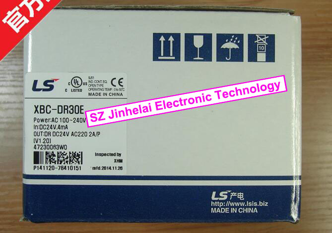100% New and original XBC-DR30E LS(LG) PLC controller 100% new and original xbc dr30su ls lg plc controller