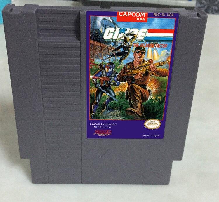 New arrival 72 pins 8 bit game cartridge free shipping — G.I.JOE
