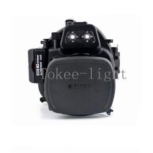 Image 5 - 40 meters Underwater Waterproof Housing Diving Camera Case Housing Bag for Canon EOS M2 EOS M2 EOS M II Camera fit 18 55mm lens