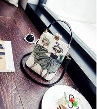 Druck Frauen Crossbody Taschen Mini Messenger Damen frauen Handtaschen Verkauf Frauen Schulter Luxus Marke Crossbody Taschen Handy