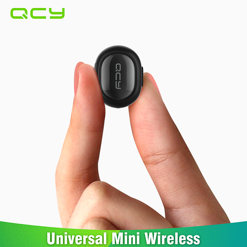 2017 QCY Q26 mini Invisible earphone business Bluetooth headset gamer in-ear earbud noise cancelling with microphone handsfree цена