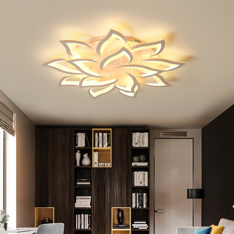 Surface Mounted Modern Ceiling Lights Kitchen Fixtures Home LED Lamp For Bedroom Dining Living Room Restaurant Lighting Dimmable-in Ceiling Lights from Lights & Lighting