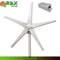 Wind turbine generation 400 Watt, 5 klingen wind generator, verwendet für marine, CE, ROHS, ISO9001, mit wind controller.