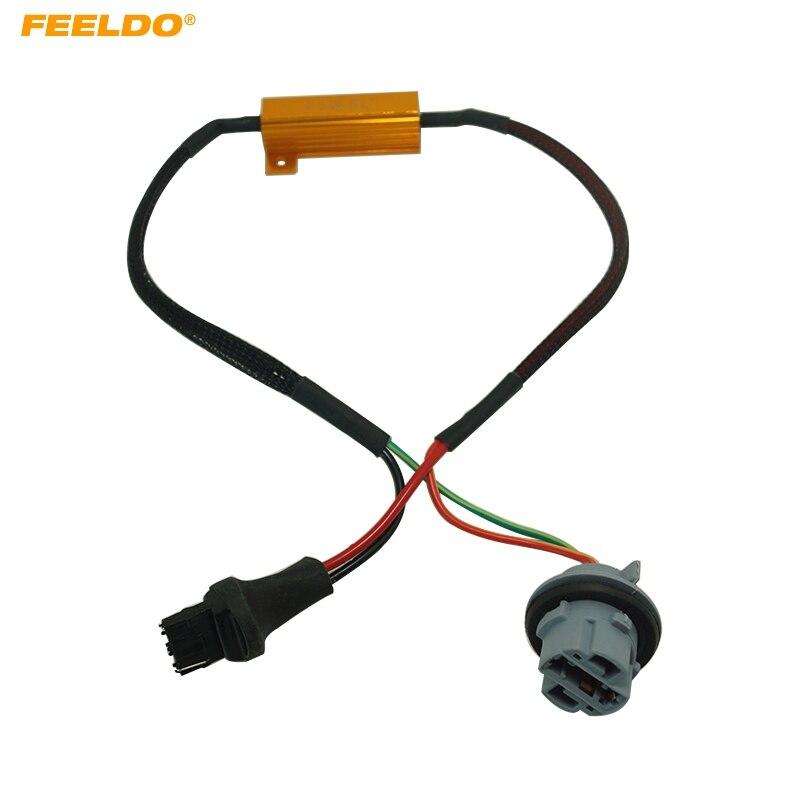 2 pcs 7440 7441 992 W21W LED Canbus Canceler Resistor No Hyper Flash Dash Error