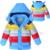 3-9 años de Los Niños Chaquetas Niños Niñas capa de la manera abajo 2017 nuevo Bebé de Invierno Cabritos de la Capa caliente del invierno outwear con capucha Hight calidad