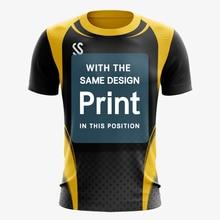 Wholesale Custom Badminton shirts Men / Women , sports Fitness Running shirt Tennis Table tennis 3D printing