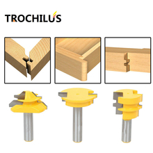 Woodworking tools Router Bit Set -Lock Miter/Glue Joint/Drawer Front router bits for wood/milling tools/wood milling cutter 3PCS