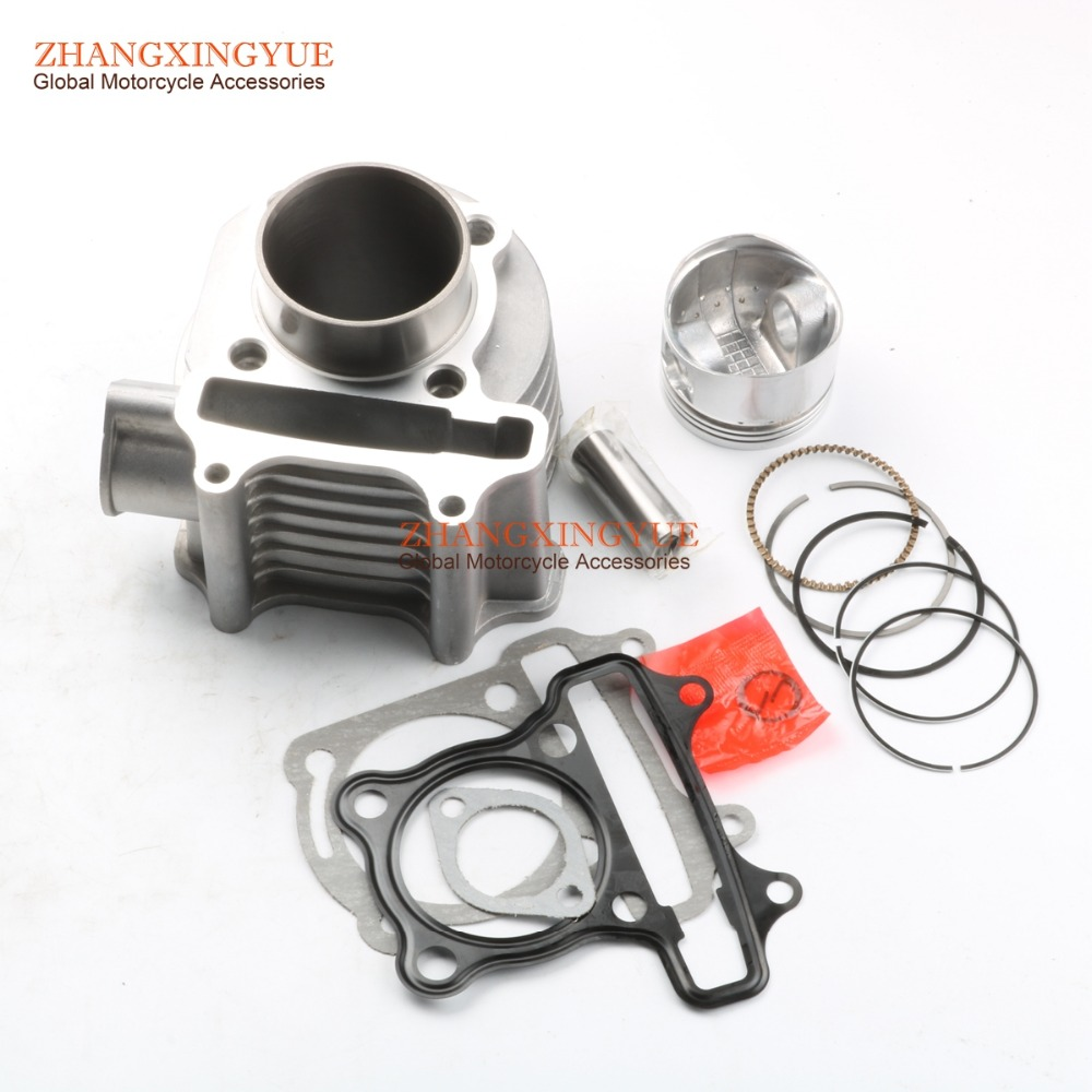 spare parts for sym jet 4 125 - 52.4mm Cylinder Kit for SYM Fiddle 125cc 12100-GY6-900E