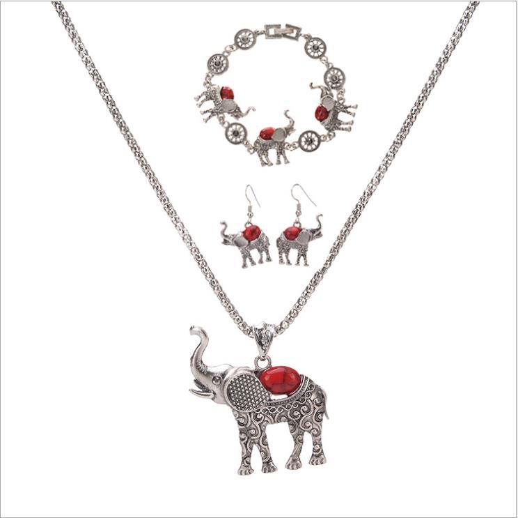 Xuanhua Edelstahl Mode Herz Zirkon Geschenk Braut Schmuck Sets Für Frauen Afrikanische Ohrringe Und Halsketten Set Für Party Schmucksets & Mehr Schmuck Sets