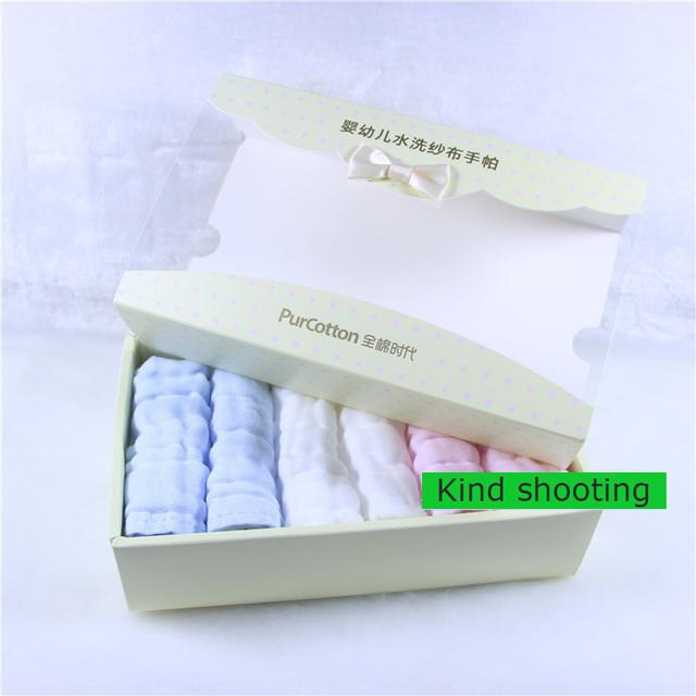 Bebé baberos pañuelo lote toalha towel infantil recién nacido alimentación towel 100% toallitas para bebé de algodón de gasa muselina squares 50a064