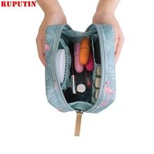 RUPUTIN 2019 Mini Women Cosmetic Bag Portable Storage Lipstick Makeup Travel MakeUp Pouch Sanitary Napkins Package Organizer