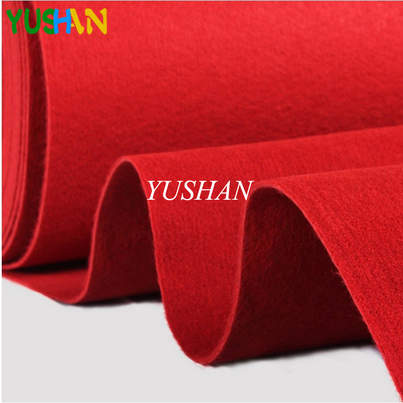 Wedding Aisle Floor Runner Carpet Polyester Large Red Carpet Rug Photo Booth Events Wedding Party Events Decoration 10m 20m in Carpet from Home Garden