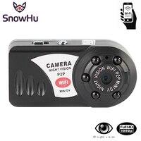 SnowHu Mini Wifi IP Camcorder DVR Wifi Camera 720P Wireless Video Recorder Camera Infrared Night Vision