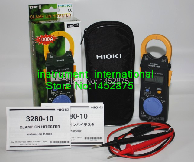 HIOKI 3280 10F Replace 3280 10 clamp Hi Tester 1000A HiTESTER ACDC Brand New