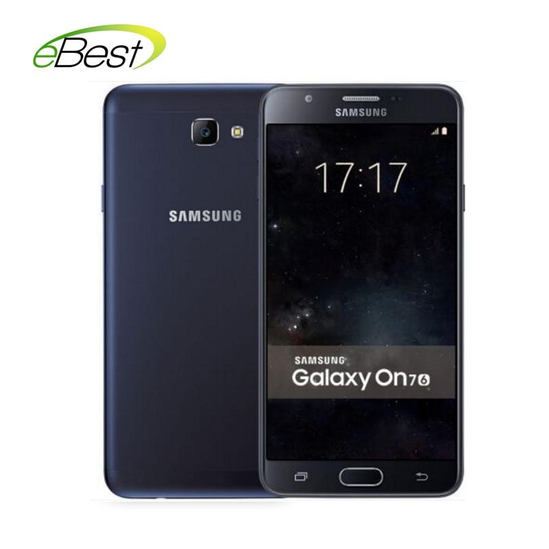 "bilder für Samsung galaxy on7 g6100 5,5 ""FHD Snapdragon 625 octa-core 3 GB RAM 32 GB ROM 4G LTE Fingerabdruck 3300 mAh 4G LTE handy"