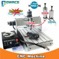 [EU Lager/Freies MEHRWERTSTEUER] 3 Achse 500W 3040Z-DQ Parallel Port Desktop Ball Schraube 3040 CNC Router gravur Fräsen Maschine 220V