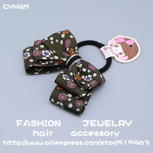 CYHGM girls haar hair accessories brand for women satynowa gumka scrunchies little+people devil elastic bands  A16