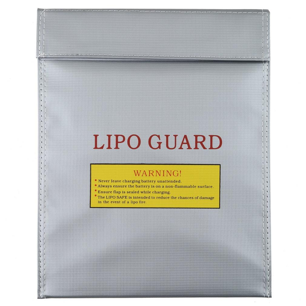 OCDAY Search 1Pc Fireproof RC LiPo Battery Safety Bag Safe Guard Charge Sack 23 x 30cm (Large) NO 1