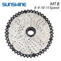 SUNSHINE 8S 9S 10S 11S 32T 36T 40T 42T 46T 50T Bicycle Flywheel Sprockets Wide Ratio MTB Mountain Bike Bicycle Component parts