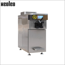 Xeoleo Professional Soft Ice cream machine High quality Commercial Ice cream maker with Pre Cooling&Expanding system R404A 20L/h