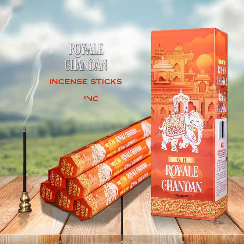 Frank Incense India Natural Handmade Indian Incense Sticks Sandal Chandan  SmellsBuddhist Supplies Dropshipping for Wooden Box