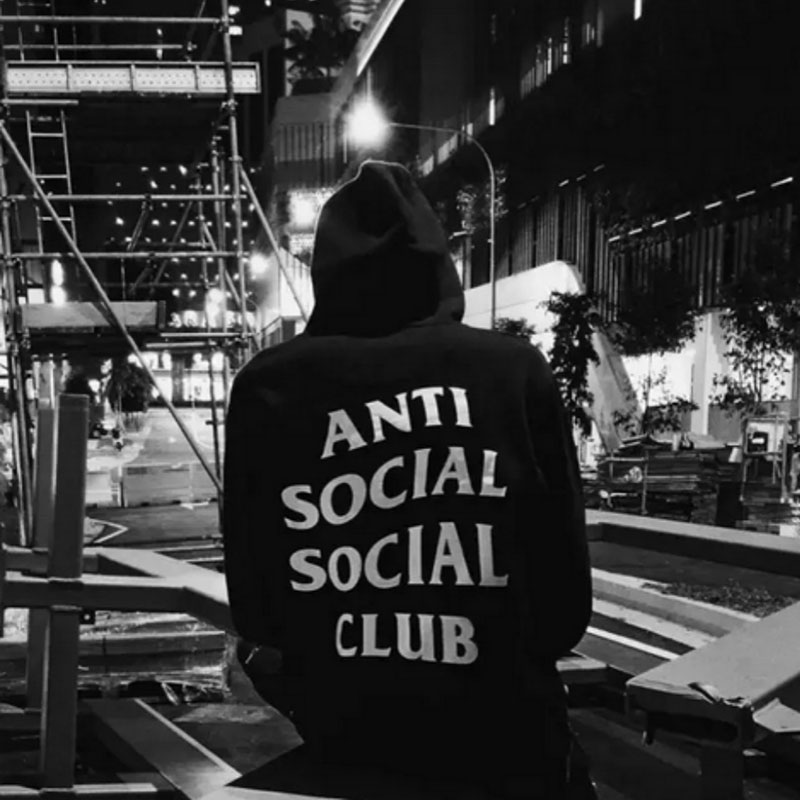 Girl Skateboards Wallpaper Autumn Boy London Assc Anti Social Social Club Hoodie Men