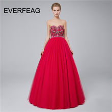 Gorgeous Embroidery Red African Long Prom Dresses 2018 Backless Ball Gowns  Beaded Lace Vestido de festa 762bc7119335