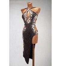 Robe de danse latine Rumba Jive Chacha, robe de bal, tenue de danse latine, tango salsa samba tournesol, robe Danc, nouveauté