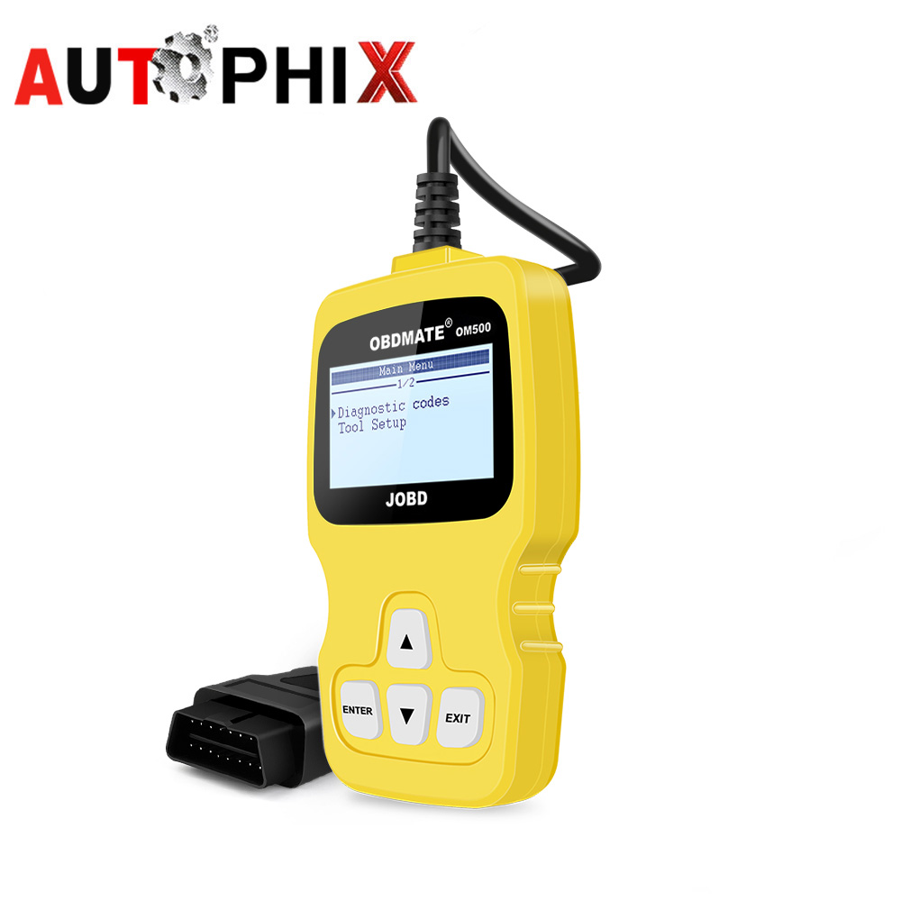 Autophix Obd2 Scan Tools JOBD OBDII Code Reader For TOYOTA HONDA DAIHATSU SUBARU Mazda Diagnostic Scanner Tools For Cars car obd scan diagnostic interface scan tool blue