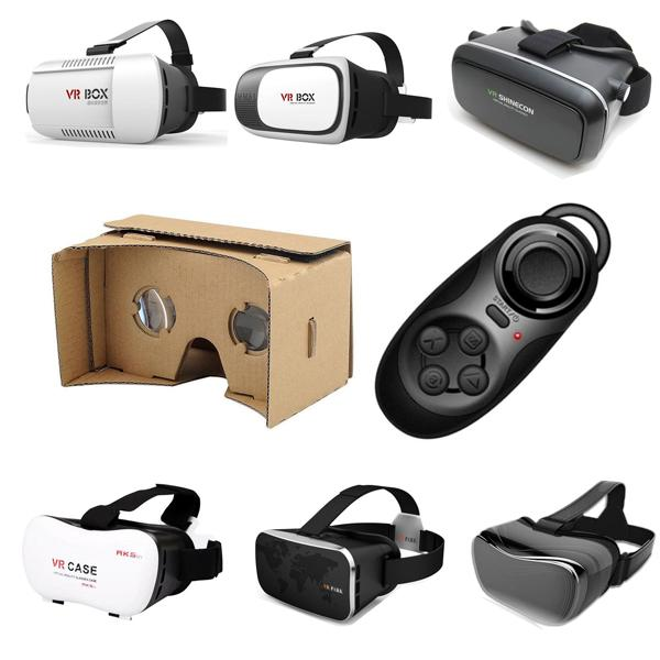 Finewin wholesale vr card board case vr box manufacturer  Virtual Reality DIY Kit Free S ...