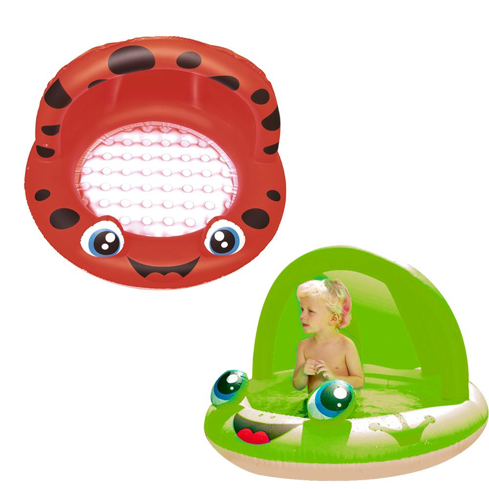 Children Inflatable Swimming <font><b>Pool</b></font> With <font><b>Baby</b></font> Awning Frog <font><b>Pool</b></font> Basin <font><b>Baby</b></font> <font><b>Pool</b></font> Children Water Play <font><b>Pool</b></font> For <font><b>Baby</b></font> image